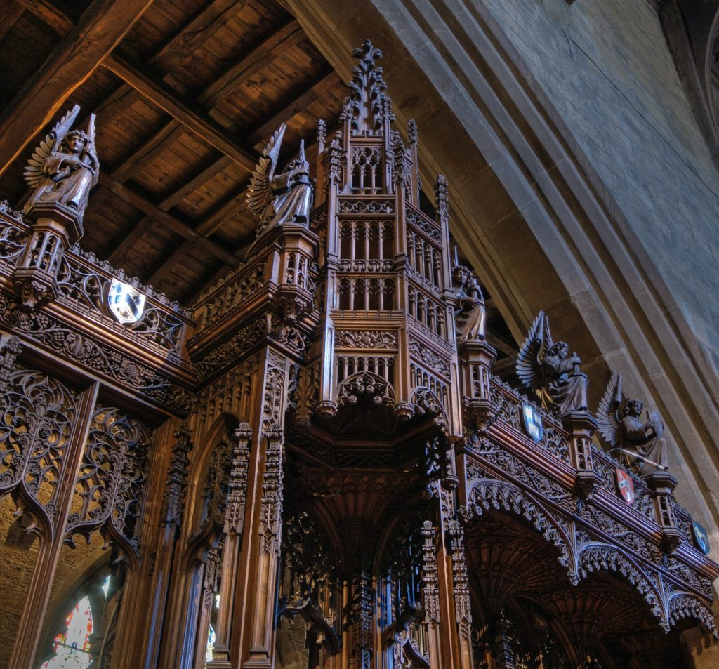The Cathedra or Bishop's Throne